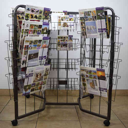 Universal Wire & Plexi Point of Purchase Calendar Display